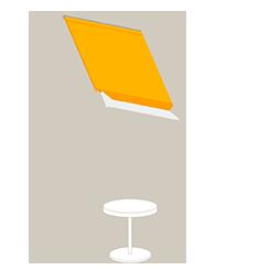 Stores pour fenêtre de toit