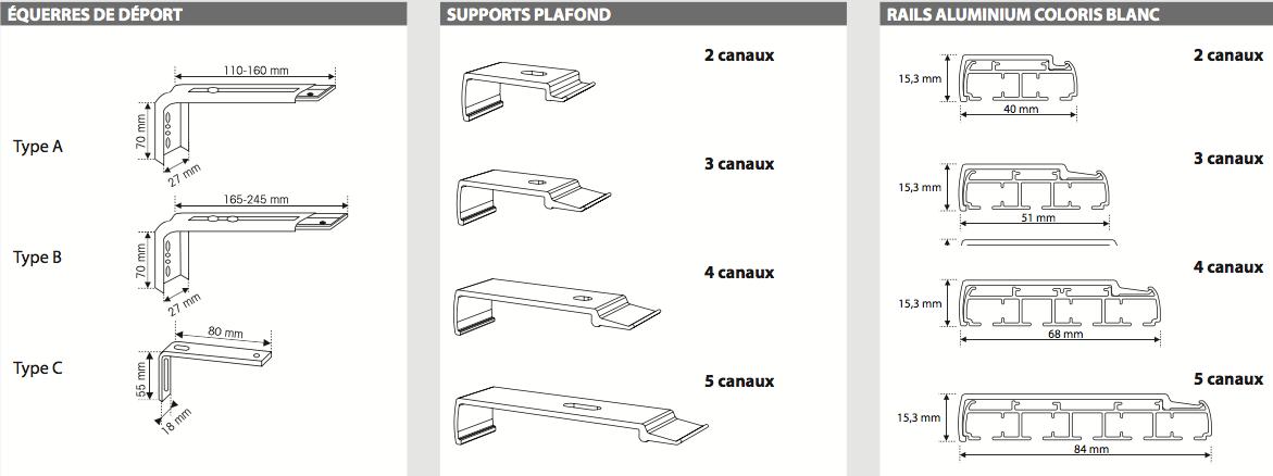 panneaux japonais 3 voies 3 panneaux jecr emonstore. Black Bedroom Furniture Sets. Home Design Ideas